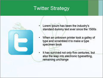 Green Bulb PowerPoint Template - Slide 9