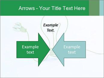 Green Bulb PowerPoint Template - Slide 90