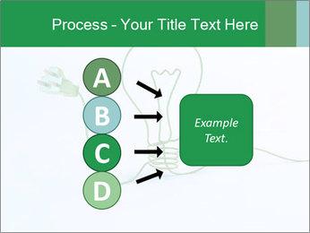 Green Bulb PowerPoint Template - Slide 94