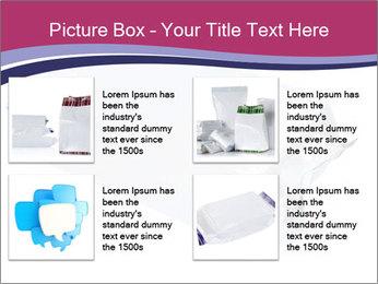 White Plastic Pack PowerPoint Template - Slide 14