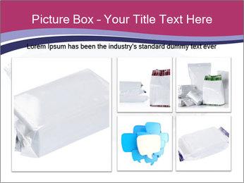 White Plastic Pack PowerPoint Template - Slide 19