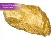 Piece of Gold PowerPoint Templates