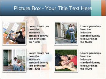 Schoolgirl Surfing Online PowerPoint Template - Slide 14