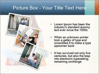 Schoolgirl Surfing Online PowerPoint Template - Slide 17