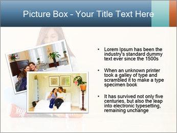 Schoolgirl Surfing Online PowerPoint Template - Slide 20