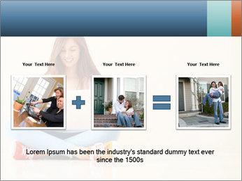 Schoolgirl Surfing Online PowerPoint Templates - Slide 22