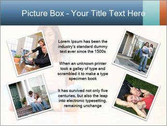 Schoolgirl Surfing Online PowerPoint Template - Slide 24