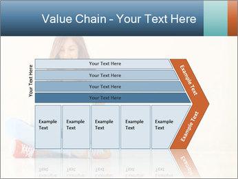 Schoolgirl Surfing Online PowerPoint Template - Slide 27