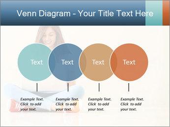 Schoolgirl Surfing Online PowerPoint Template - Slide 32