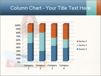 Schoolgirl Surfing Online PowerPoint Template - Slide 50