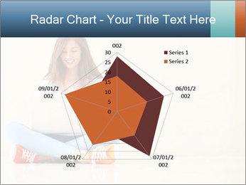 Schoolgirl Surfing Online PowerPoint Template - Slide 51