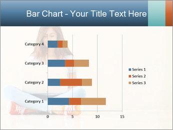 Schoolgirl Surfing Online PowerPoint Template - Slide 52