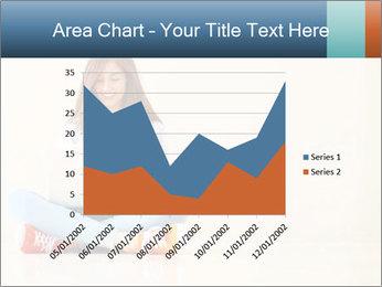 Schoolgirl Surfing Online PowerPoint Template - Slide 53
