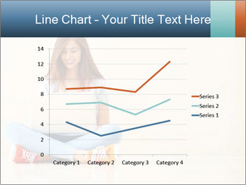 Schoolgirl Surfing Online PowerPoint Template - Slide 54
