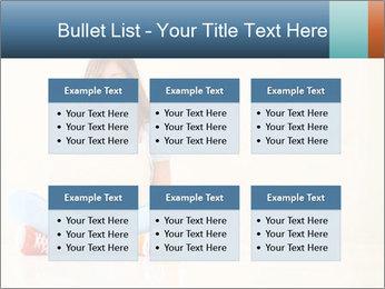 Schoolgirl Surfing Online PowerPoint Templates - Slide 56