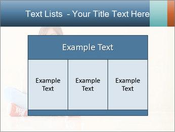 Schoolgirl Surfing Online PowerPoint Template - Slide 59