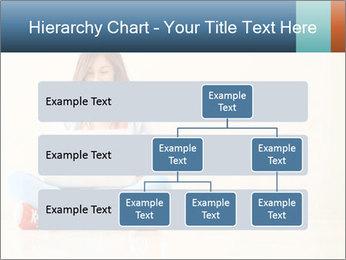 Schoolgirl Surfing Online PowerPoint Template - Slide 67