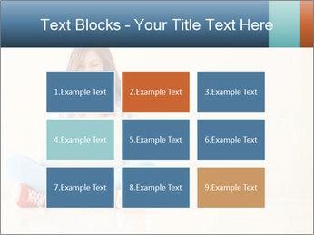 Schoolgirl Surfing Online PowerPoint Template - Slide 68