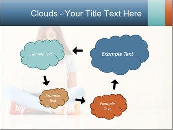 Schoolgirl Surfing Online PowerPoint Template - Slide 72