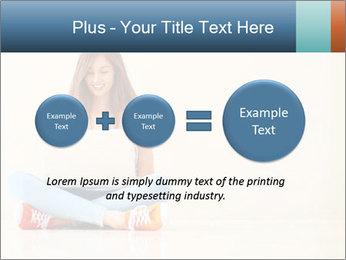 Schoolgirl Surfing Online PowerPoint Template - Slide 75