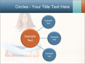 Schoolgirl Surfing Online PowerPoint Template - Slide 79