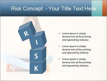 Schoolgirl Surfing Online PowerPoint Template - Slide 81