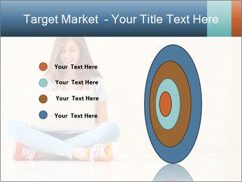 Schoolgirl Surfing Online PowerPoint Template - Slide 84