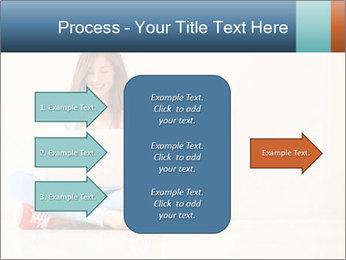 Schoolgirl Surfing Online PowerPoint Template - Slide 85