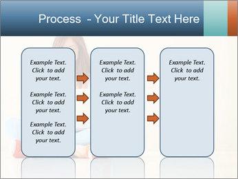 Schoolgirl Surfing Online PowerPoint Template - Slide 86
