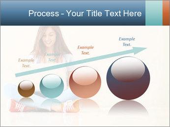 Schoolgirl Surfing Online PowerPoint Template - Slide 87