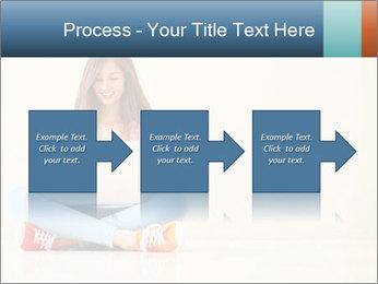 Schoolgirl Surfing Online PowerPoint Template - Slide 88