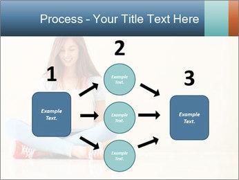 Schoolgirl Surfing Online PowerPoint Template - Slide 92