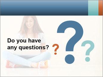 Schoolgirl Surfing Online PowerPoint Template - Slide 96