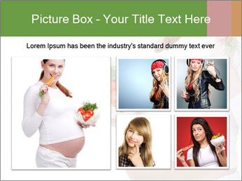Healthy Diet During Pregnancy PowerPoint Templates - Slide 19