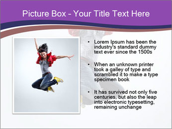 Cute Dancer PowerPoint Template - Slide 13