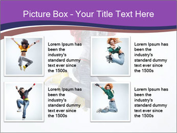 Cute Dancer PowerPoint Templates - Slide 14