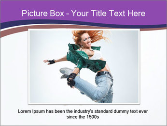 Cute Dancer PowerPoint Template - Slide 15