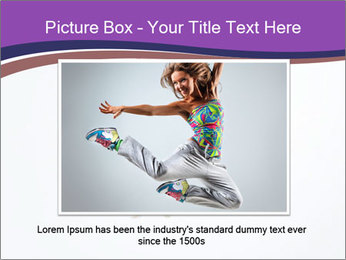 Cute Dancer PowerPoint Templates - Slide 16