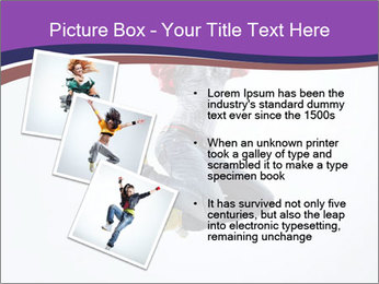 Cute Dancer PowerPoint Template - Slide 17