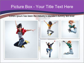 Cute Dancer PowerPoint Template - Slide 19