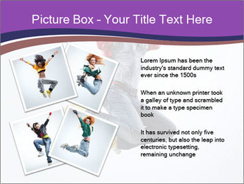 Cute Dancer PowerPoint Templates - Slide 23