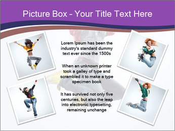 Cute Dancer PowerPoint Template - Slide 24