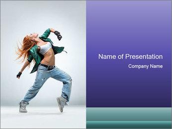 New Dance PowerPoint Templates - Slide 1