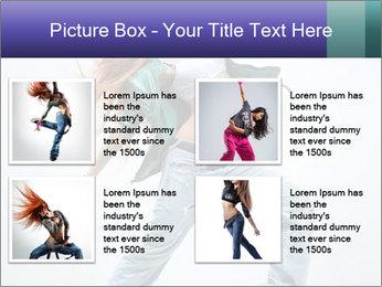 New Dance PowerPoint Templates - Slide 14