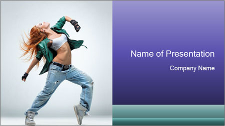 New Dance PowerPoint Template