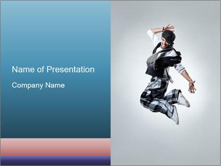 Modern Dance Training PowerPoint Templates