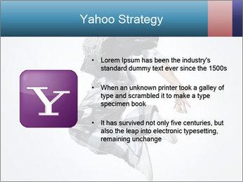 Modern Dance Training PowerPoint Templates - Slide 11
