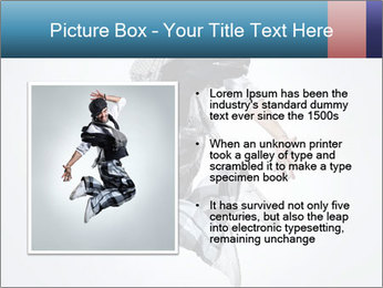 Modern Dance Training PowerPoint Templates - Slide 13