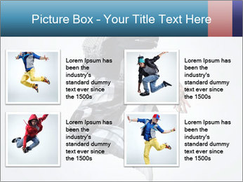 Modern Dance Training PowerPoint Templates - Slide 14