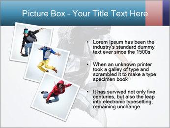 Modern Dance Training PowerPoint Templates - Slide 17